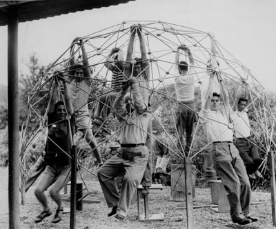 Geodesic Dome at Black Mountain College