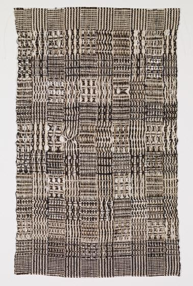 Anni Albers (Faculty Weaving and Textile Design 1933-1949) (b.1899-d.1994) Untitled, 1950 Cotton and bast Promised Gift to Crystal Bridges Museum of American Art, Bentonville, Arkansas  On view through April 25, 2020 at BMCM+AC
