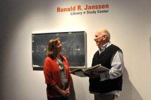 Ronald R. Janssen Library + Study Center Opens at BMCM+AC