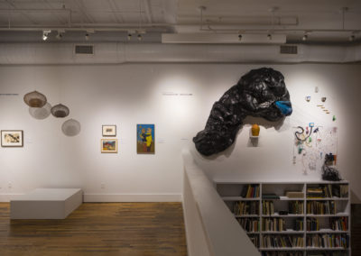 Between Form + Content installation, BMCM+AC at 120 College Street (photo by Michael Oppenheim)