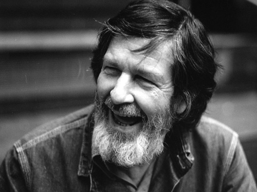 American composer, pianist and writer John Cage (1912 - 1992).   (Photo by Erich Auerbach/Getty Images)