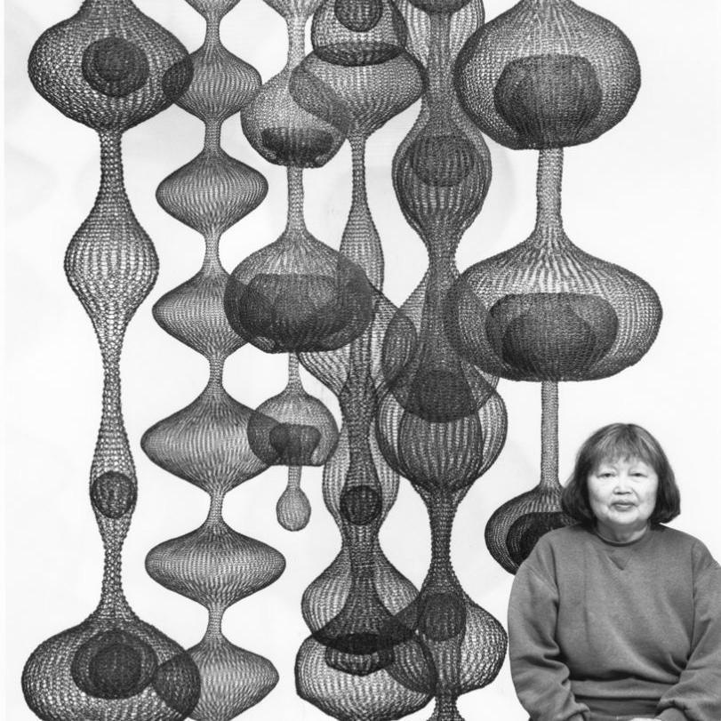 Laurence Cuneo, Ruth Asawa, 1999. Estate of Ruth Asawa.