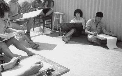 Basil King: Between Painting and Writing