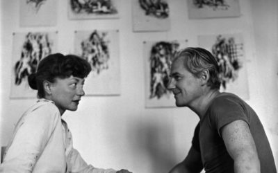 Elaine and Willem de Kooning + The Summer of 1948